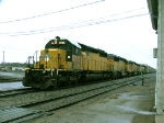 UP 2960 westbound freight train